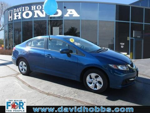 Certified Pre-Owned 2014 Honda Civic LX FWD Sedan