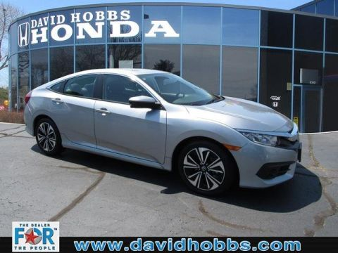 Certified Pre-Owned 2016 Honda Civic EX-L FWD Sedan
