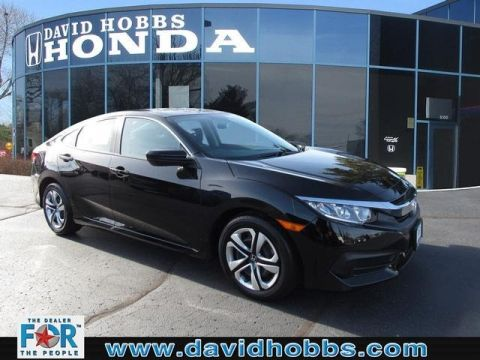 Certified Pre-Owned 2017 Honda Civic LX FWD Sedan