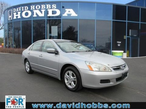 Pre-Owned 2006 Honda Accord EX FWD Sedan