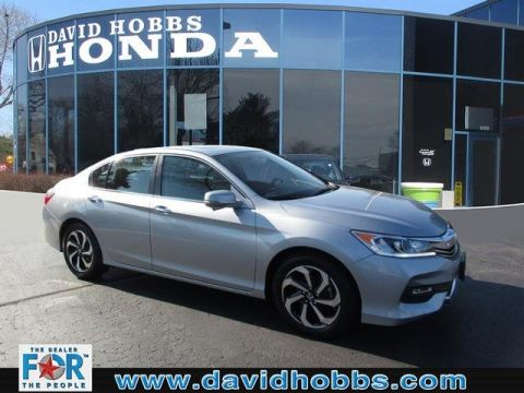 Certified Pre-Owned 2017 Honda Accord EX FWD Sedan