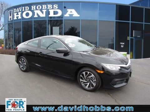 Certified Pre-Owned 2017 Honda Civic LX FWD Coupe